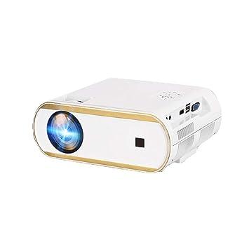 HongLianRiven Proyector de vídeo portátil, 800X480dpi, 3000 ...