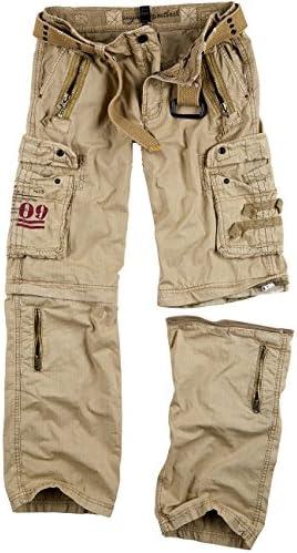 Zimaes-Men Tactical Oversized Multi-Pockets Rocker Punk Long Pants