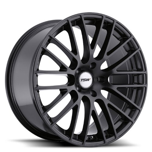 TSW MAX Black Wheel with Painted Finish (19 x 8.5 inches /5 x 114 mm, 40 mm Offset)