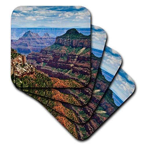 Az Grand Canyon National Park - 3dRose CST_88036_3 North Rim, Grand Canyon National Park, Az-Us03 Mwi0000-Mark Williford-Ceramic Tile Coasters, Set of 4