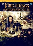The Lord of the Rings Instrumental Solos: Alto Sax, Book and CD