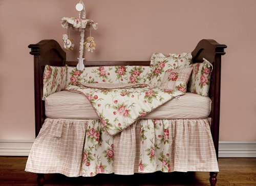 Picci 4 Piece Crib Bedding Set Rose Buy Online In Uae