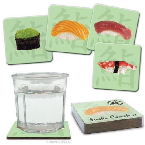 1 X Sushi Coasters