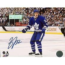 Nikita Zaitsev Toronto Maple Leafs Autographed 8 x 10 Photo COA T1M Sports