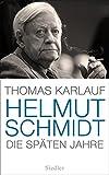 Helmut Schmidt: Die späten Jahre