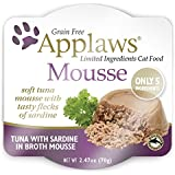 Applaws Cat 2.47oz Mousse Tuna with Sardine - 12 Pack