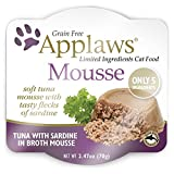 Applaws Grain Free Wet Cat Food, Mousse, Cat Pate, Tuna with Sardine 2.47 oz per Unit (12 Pack)