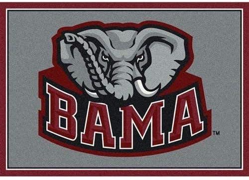 Milliken Alabama College Team Spirit Area Rug, 7 8 x 10 9
