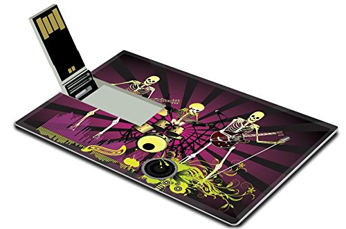 Music Posters Bone (MSD 32GB USB Flash Drive 2.0 Memory Stick Credit Card Size IMAGE ID: 7462559 Music poster)