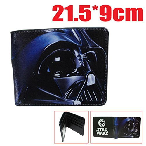 Sith Accessories Boxed (Superheroes Star Wars Sith Darth Vader Bi-fold Men's Boys Wallet Gift Boxed)