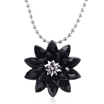 Stunning Indonesian Daisy Coral Pendant with Bail and 18 Stainless Steel Necklace  VALENTINE/'S DAY!!