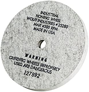 """product image for 5"""" Industrial Honing Wheel fits Twice as Sharp 350 Grit Hone Scissors & Shears"""