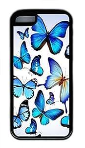 iPhone 5c case, Cute Butterflies 3 iPhone 5c Cover, iPhone 5c Cases, Soft Black iPhone 5c Covers