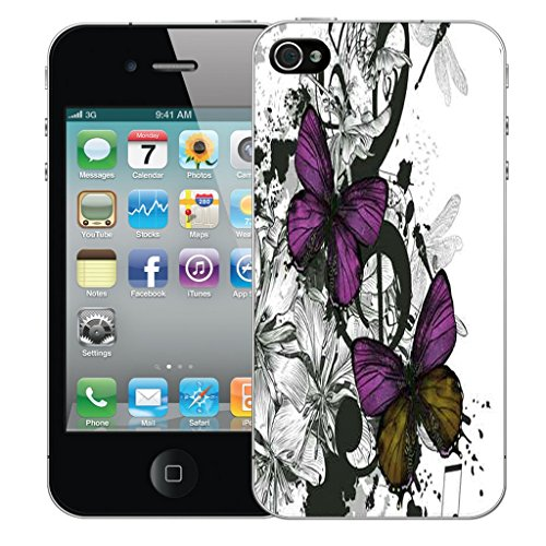 Mobile Case Mate iPhone 5s Silicone Coque couverture case cover Pare-chocs + STYLET - Cherished pattern (SILICON)
