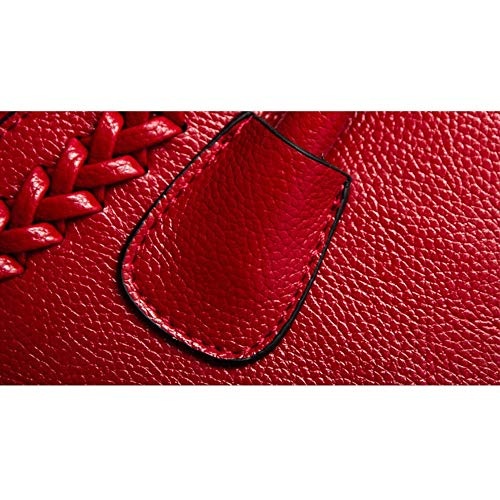 fourre en Femmes Couleur Tout pour bandoulière Femmes Grande Rouge Xuanbao Rouge bandoulière Sac Sac imperméable capacité Femmes Stockage Femme Cuir à q4wxcpBac0