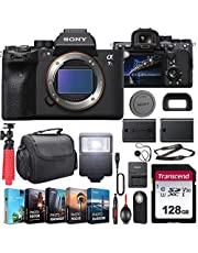 $3498 » Sony Alpha a7S III Mirrorless Digital Camera (ILCE7SM3/B) Body Kit with Extra Battery + Flash + 128GB U3 V30 Memory Accessory Bundle