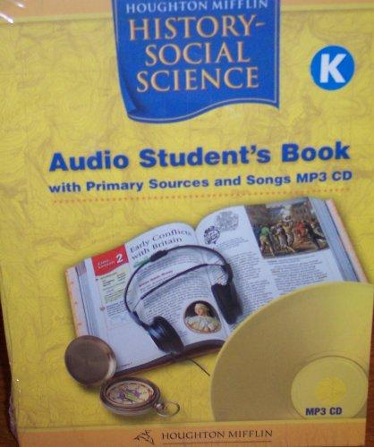 Houghton Mifflin Social Studies California: Aud Bk Mp3 Lvl K