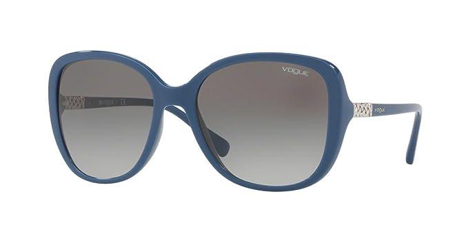 Vogue 0VO5154SB 241611, Montures de Lunettes Femme, Bleu (Bluette Grey  Gradient) 9ac8ca3c0cc8