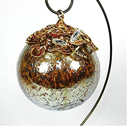 Amazon Com Jay Strongwater Christmas Ornament Ball Gold Large