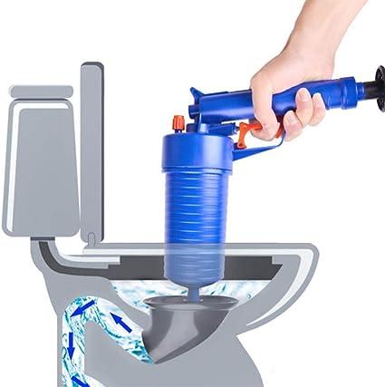 ba/ñera con tuber/ía cocina ducha ba/ño /Émbolo del inodoro limpiador de bomba de presi/ón para ba/ño Desatascador de drenaje con aire comprimido