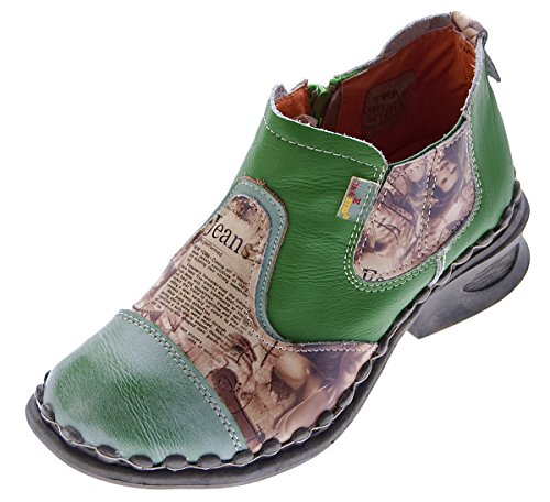 Zapato Mujer Verde tobillero TMA verde q7BPP