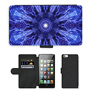 PU Cuir Flip Etui Portefeuille Coque Case Cover véritable Leather Housse Couvrir Couverture Fermeture Magnetique Silicone Support Carte Slots Protection Shell // M00289911 Arte Antiguo fondo oscuro Cosmos // Apple iPhone 5 5S 5G SE
