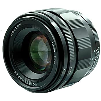 Voigtlander Nokton 40mm f/1.2 Aspherical Lens for Sony E-Mount