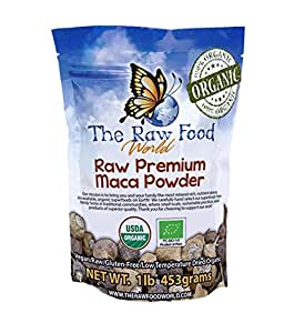 The Raw Food World  Organic Maca Powder, 1 Pound