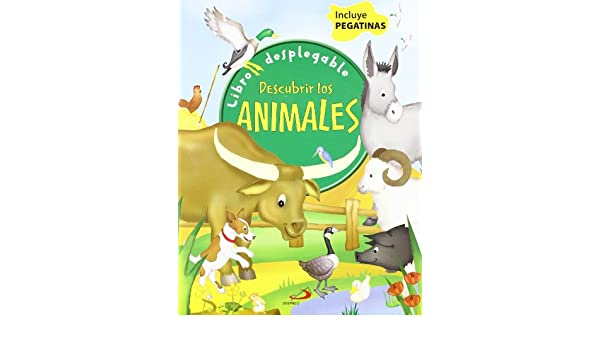 Descubrir los animales. Libros desplegable: 9788428530088: Amazon.com: Books
