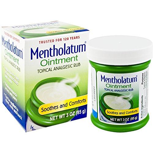 Mentholatum Original Ointment associated Ingredients product image