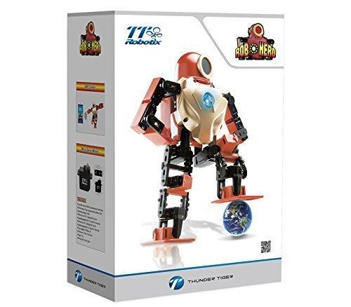 Thunder Tiger TTRobotix ROBOHERO - Voice Control Intelligent Arduino Programmable Humanoid Robot App Motion Control Robotic
