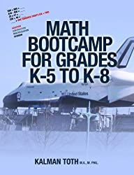 Math Bootcamp for Grades K-5 to K-8 (English Edition)
