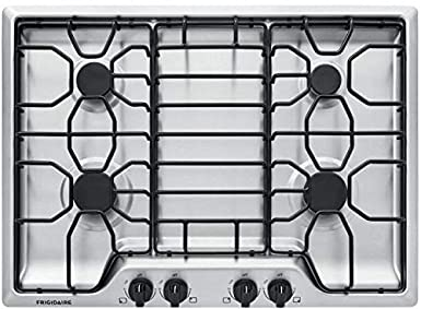 Frigidaire 30' Stainless Steel 4 Burner Gas Cooktop FFGC3012TS Frigidaire Products
