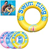 INFLATABLE SWIM RING TYRE TUBE BEACH SWIMMING POOL AID TOYS FLOAT RING SAFE GOOD Fusion (TM)
