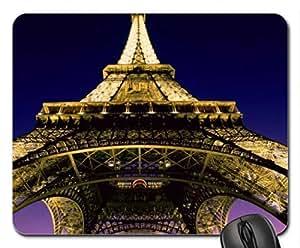 WMSHOP Eiffel Tower Paris Mouse Pad, Mousepad (Monuments Mouse Pad)