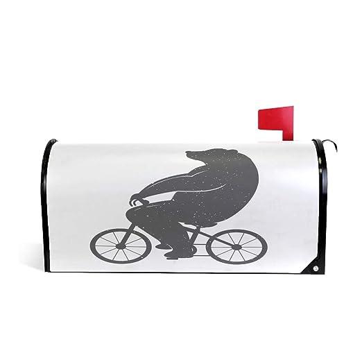 Wamika Funda para buzón de Bicicleta con diseño de Oso Vintage ...