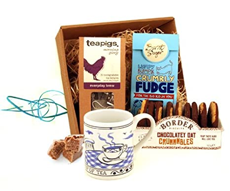 Tea Gifts For Women Morning Glory Cookies And Hamper Send Gift Basket Next Day Delivery Co Uk Grocery