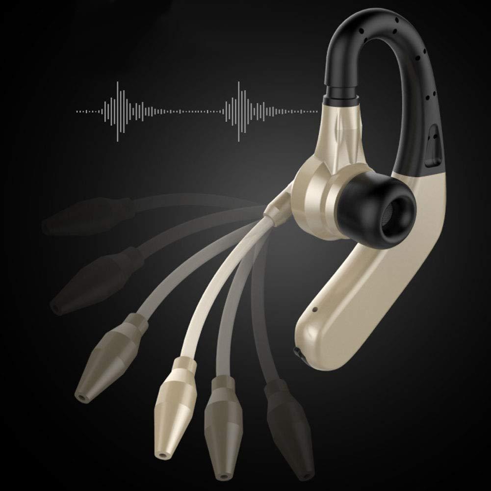 yunbox299 Earphone Earbud Headset Headphone M8 Bluetooth Wireless Earhook Sports Business Ear Bud Earphone Headphone Black by yunbox299 (Image #6)
