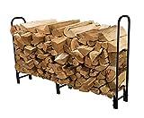 PAZINGA 8-Foot Heavy Duty Firewood Log Rack Firewood Holder