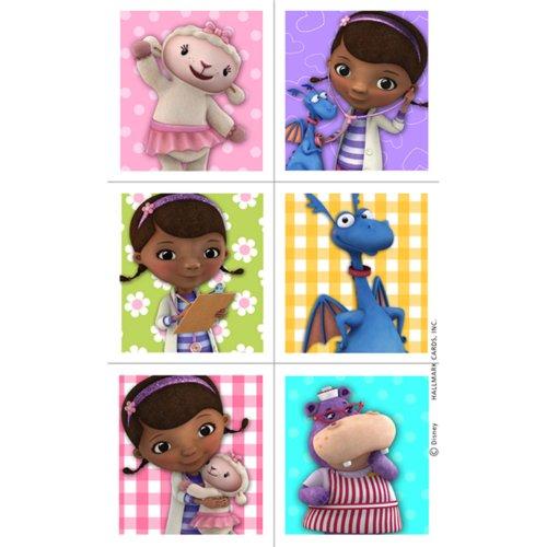 Disney Doc McStuffins Sticker Sheets 4 Pack