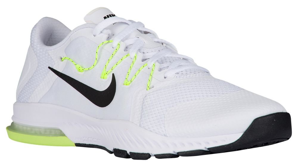 NIKE Air Zoom Train Complete Mens Running Trainers 882119 Sneakers Shoes B072PTT4NT 8 D(M) US|White / Black - Pure Platinum - Volt