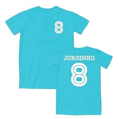 Jorginho 8 Napoli Style T-Shirt 15 16 (Sky White) - XXL  Amazon.co ... 3324a6b5d