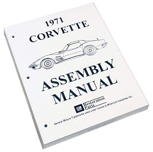 Inline Tube (I-3-11) Factory Assembly Manual for 1971 Chevrolet ()