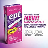 EPT Home Pregnancy Test Direct Flow HCG with European...