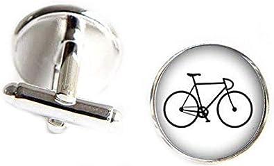 JUN Gemelos de Bicicleta, Accesorios para Hombres, Regalo para ...