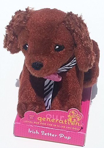 Our Generation Doll Small Dog Collection Plush Irish