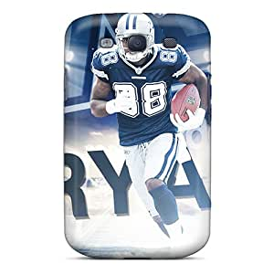Bumper Hard Phone Cases For Samsung Galaxy S3 With Allow Personal Design Lifelike Dallas Cowboys Pattern JamieBratt
