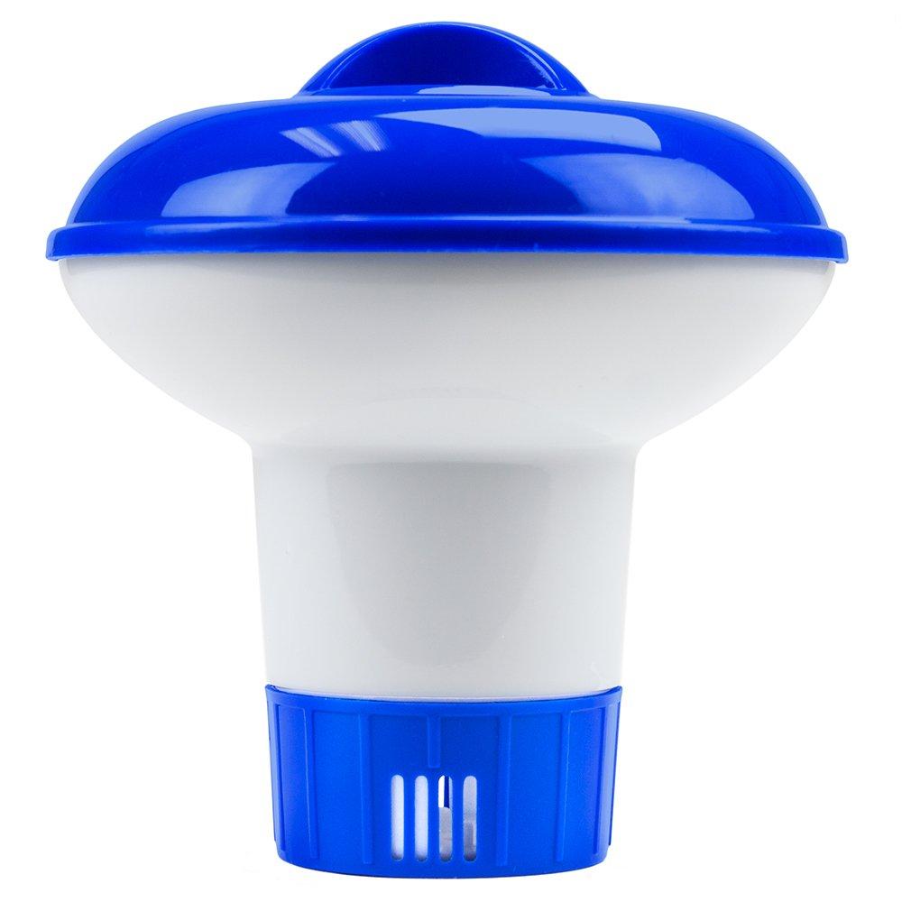 SplashTech Mini Floating Chlorine Dispenser for 1-Inch Tablets SPLS-202