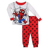 Marvel Spider-Man Go Spidey Toddler Boys 2 Piece Sleepwear Pajama Set