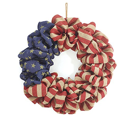 Burton and Burton 9729788 Flag Wreath, Multicolor]()